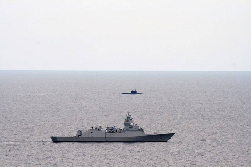 Russian Navy submarines may be docked in one of the Mediterranean Countries.