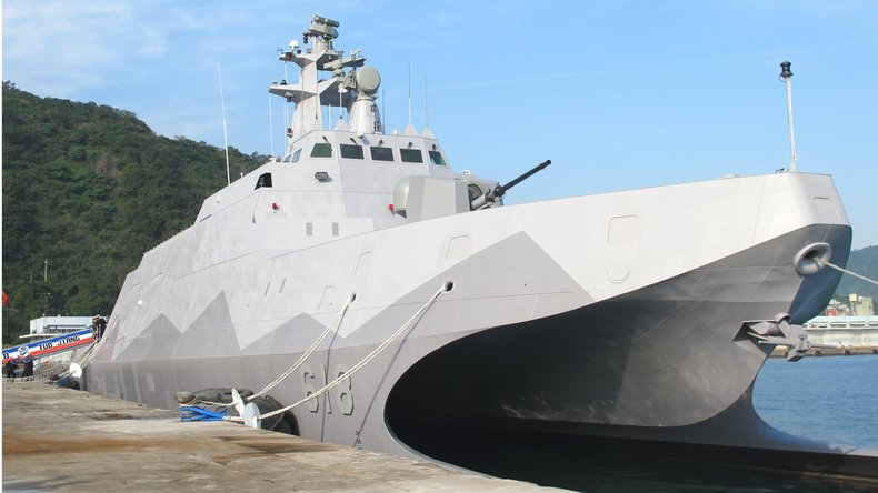 Taiwan Wants To Speed Up Construction Of Its New Missile-Toting Stealthy Catamarans