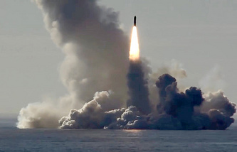 Bulava missile accepted for service by the Russian Navy
