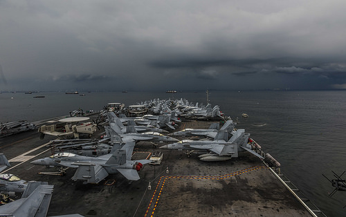 Ronald Reagan Carrier Strike Group visits Manila