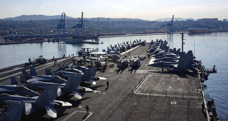 USS Harry S. Truman Arrives in Marseille, France