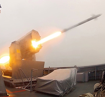 The German Navy awarded RAMSYS a contract for the delivery of ten RAM launchers