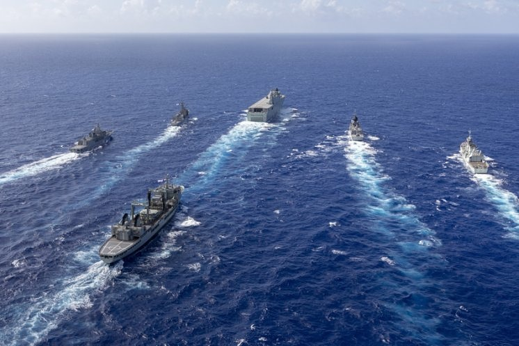 Australian Defence Forces participation to Exercise Rim of the Pacific (RIMPAC) 2018.