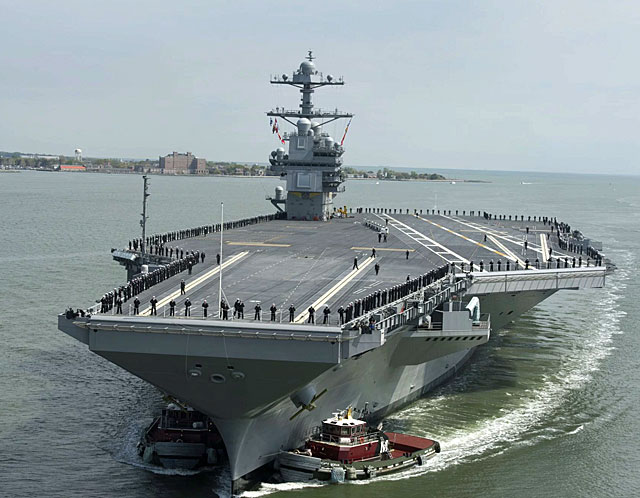 Huntington Ingalls Industries has been awarded $200 million contract in support of new material for the USS Enterprise