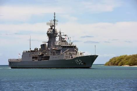 HMAS Warramunga finished her record breaking deployment to Middle East