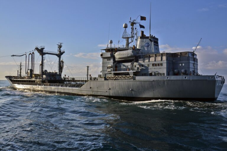The German Navy is suffering from a shortage of special tankers to provide underway replenishment for its ships at sea.