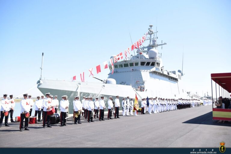 """The Spanish Navy commissioned its fifth OPV """"Audaz"""""""
