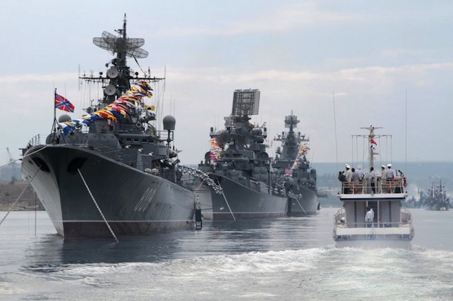 Russian Navy to accept 19 new warships for service by yearend