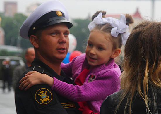 Russian Pacific fleet warships  returned to Vladivostok after two month deployment