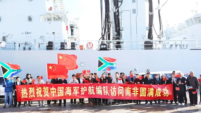 28th Chinese naval escort taskforce wraps up visit to South Africa