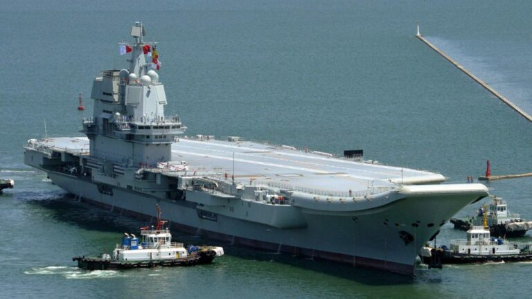 China's first indigenously built aircraft carrier ready for second sea trial