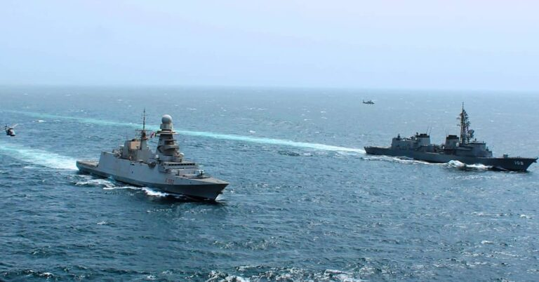 Counter-piracy task forces strengthen interoperability through PASSEX
