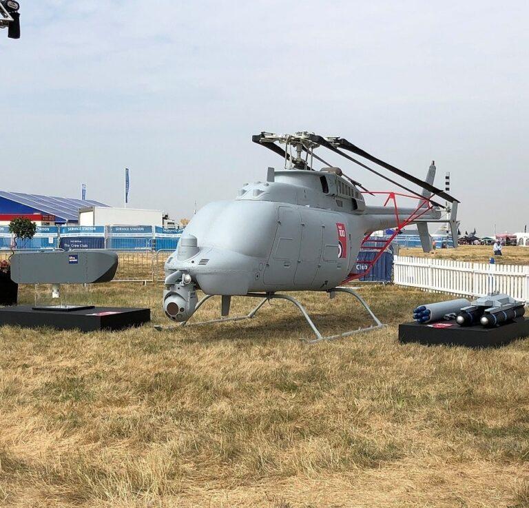 MQ−8C Fire Scout makes its European debut