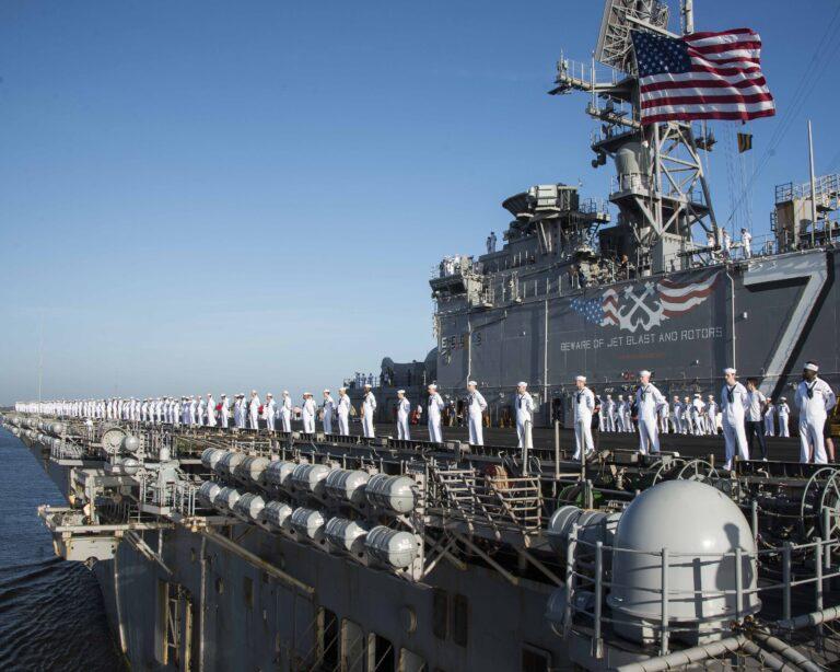 Iwo Jima Completes Six Month Deployment
