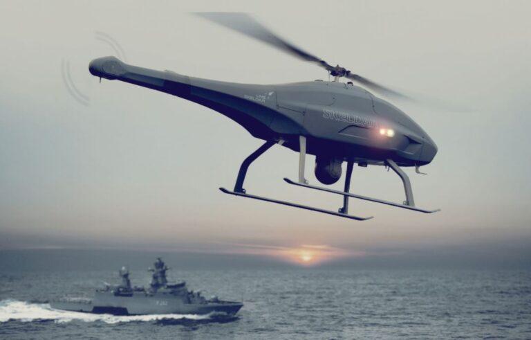 Unmanned V-200 UAV for German Navy K130.