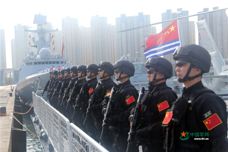 30th Chinese naval escort taskforce sets sail for Gulf of Aden