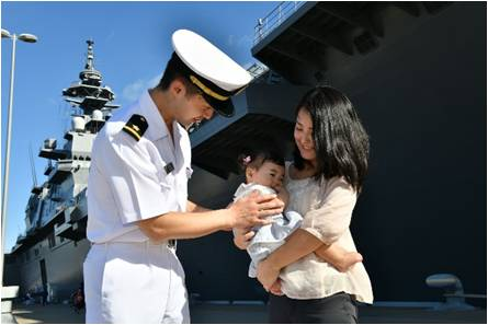 Three JMSDF Destroyers started their Indo Southeast Asia Deployment