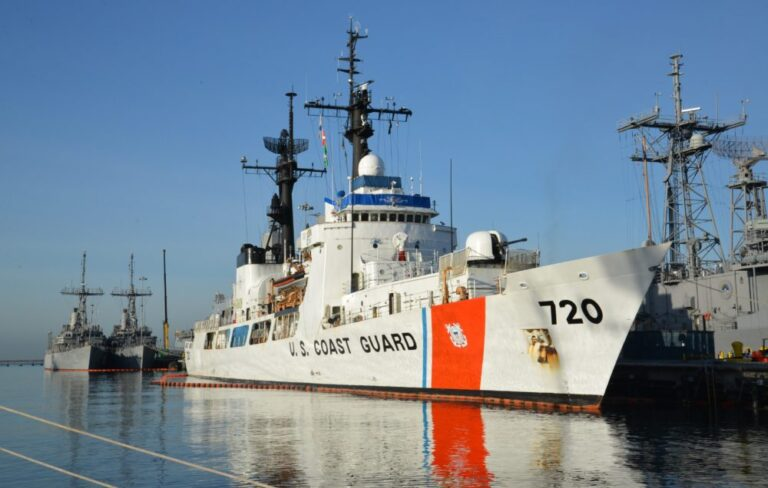 Sri Lanka Navy ceremonially takes over United States Coast Guard Cutter 'Sherman' at Honolulu, Hawaii, USA