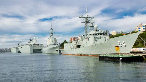 A Chinese warship will take part in multinational military exercises hosted by Australia