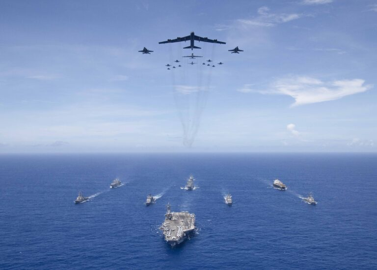 Joint U.S. Forces Team for Exercise Valiant Shield 2018