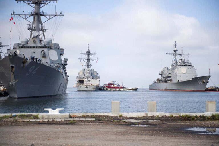 U.S. Navy ships in the Hampton Roads area are preparing for Hurricane Florence.