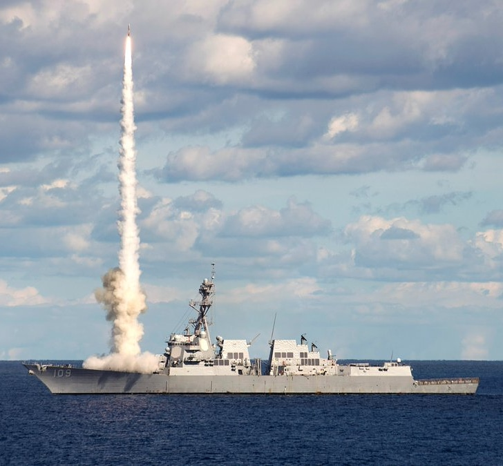 U.S. surface ships will be able to use SM-2 against surface targets in range of 90 NM