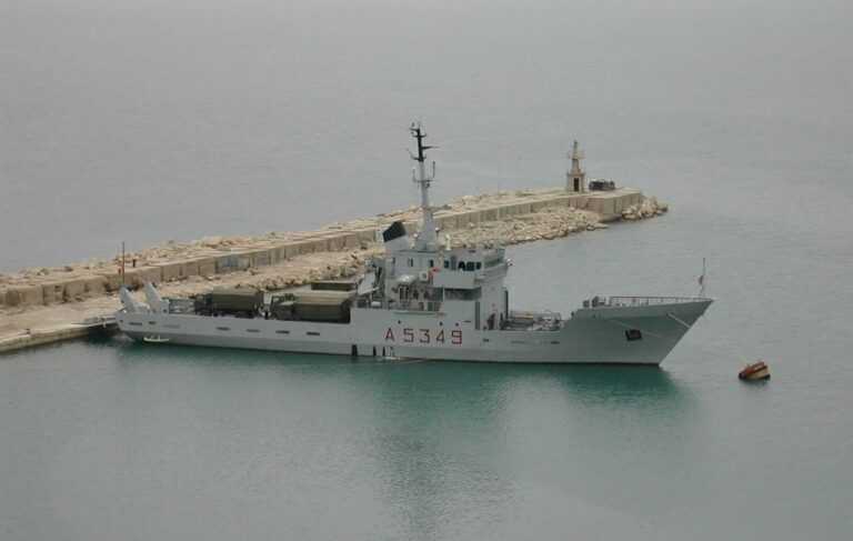 Italian Navy vessel Nave Caprera was used to smuggle cigarettes on the return trip from Libya