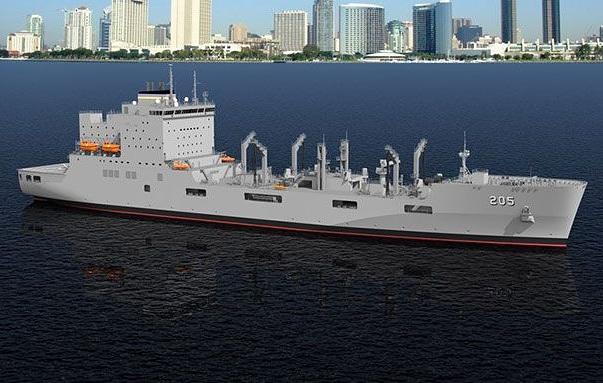 First in Class Ship, Future USNS John Lewis (T-AO 205), Starts Construction