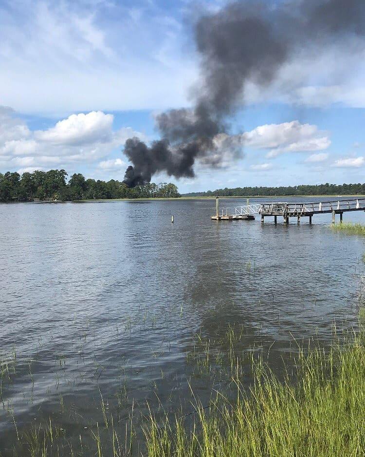 F-35B jet crashes in South Carolina