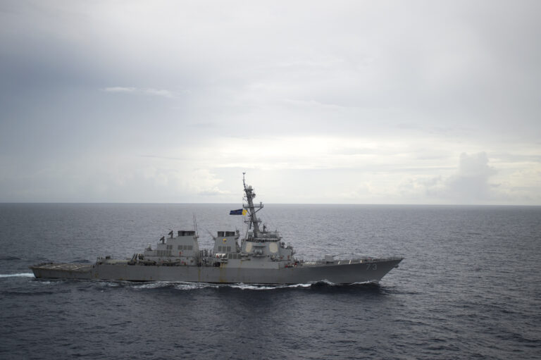 USS Decatur Has Close Encounter With Chinese Warship