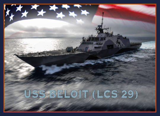 U.S. Secretary of the Navy Names Newest Two Littoral Combat Ship