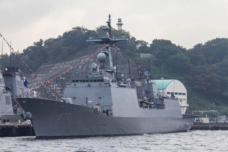 South Korean Navy will make a port call to Sasebo Japan