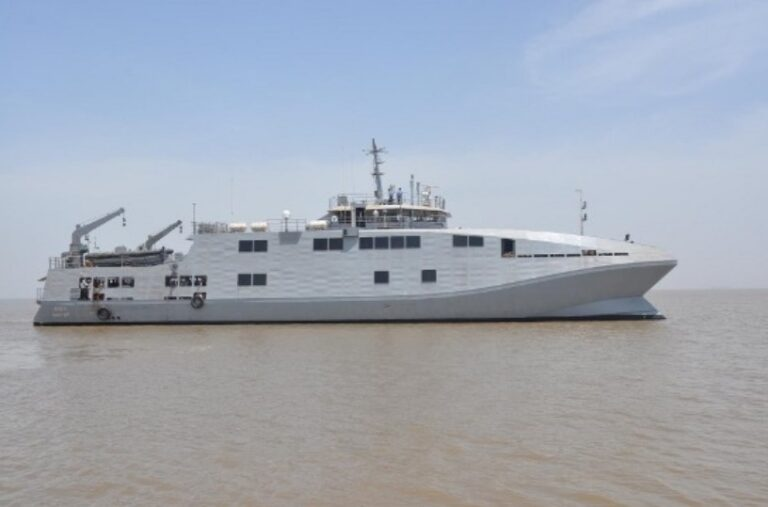 Indian MOD signs contract with GRSE for supply of four survey vessels for Indian Navy