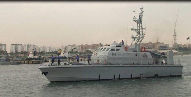 """Italy sends Libya boat """"Fezzan"""""""