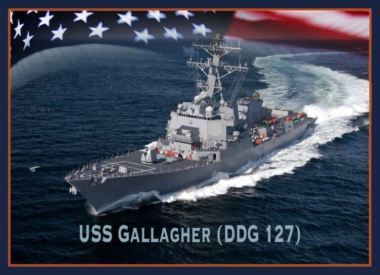 The construction of the future USS Patrick Gallagher (DDG 127) is officially started