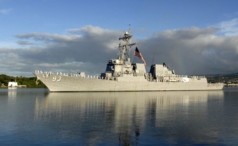 USS Chung-Hoon Conducts Second Drug Bust in a Month