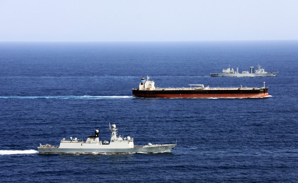 Chinese naval fleets escort 3,400 foreign ships over past 10 years