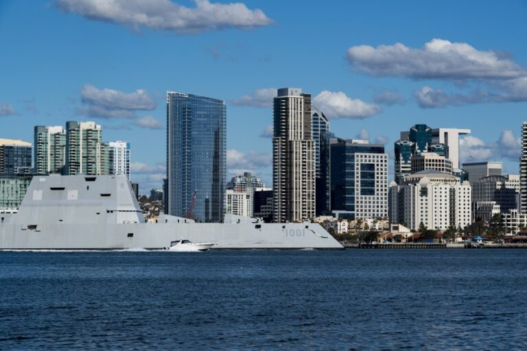 U.S. Navy commissions Zumwalt-class destroyer USS Michael Monsoor
