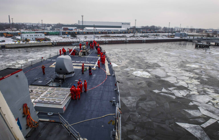 USS Porter arrives in Riga, Latvia