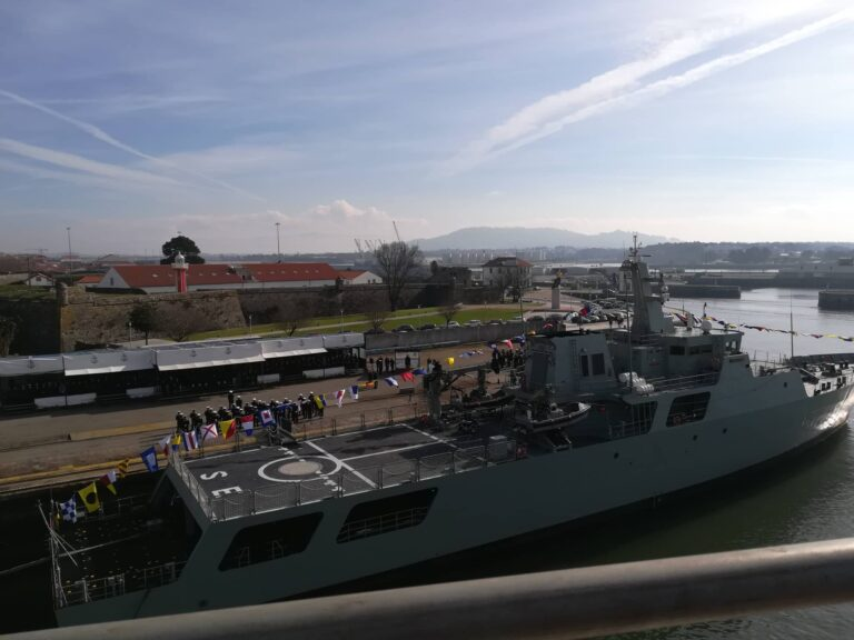 Portuguese Navy inducts fourth OPV