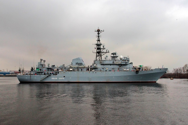 project 18280 intelligence ship ivan khurs - naval post- naval news and information