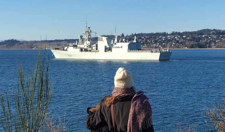 HMCS Regina departs for deployment to the Asia-Pacific and Middle East regions
