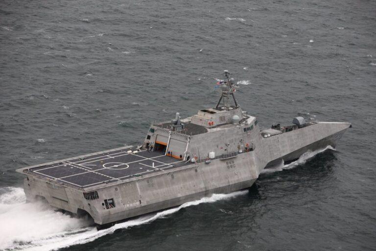 Future USS Cincinnati (LCS 20) Completes Acceptance Trials
