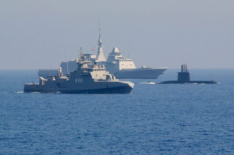 Egypt's navy modernization, The growth of new power in the Middle east