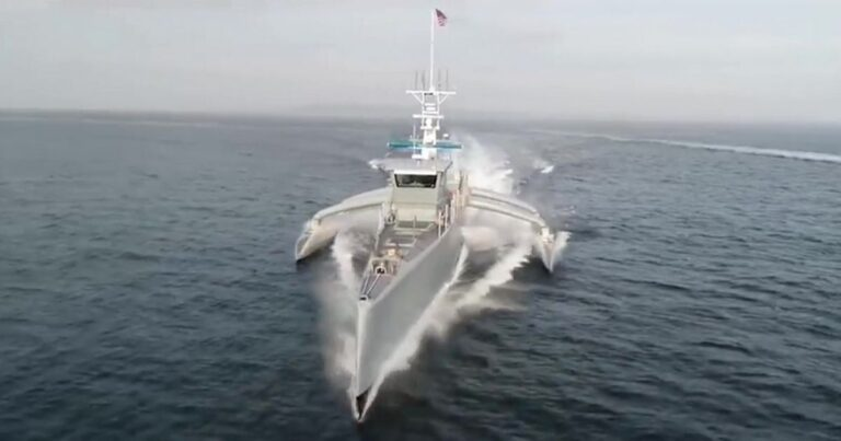 U.S. Navy builds new surface attack drone ships