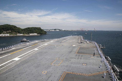 USS Ronald Reagan begins underway operations in the Indo-Pacific