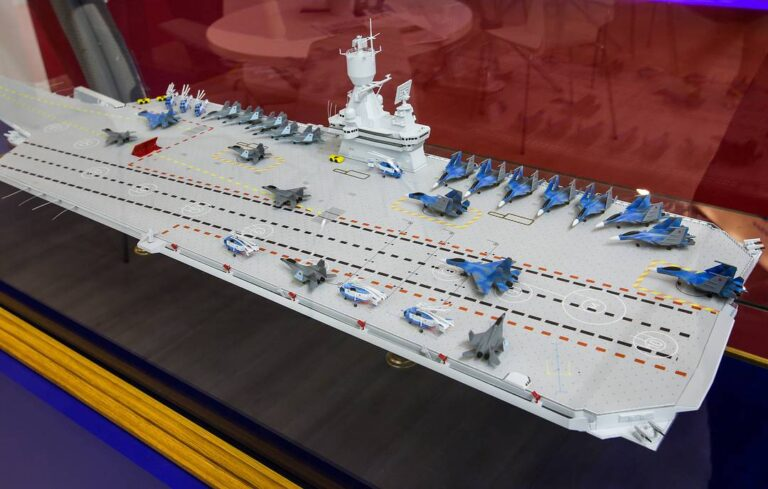 Russia's new aircraft carrier concept seen at Army-2019 show