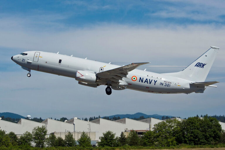Indian Navy Plans for 10 Additional Boeing P-8I Aircraft