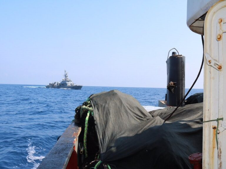 Turkish Navy's ICCAT Inspections at East Mediterranean