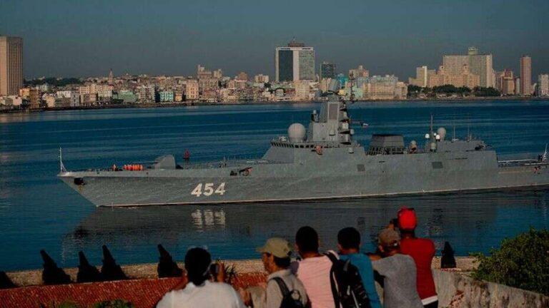 RFS Admiral Gorshkov's visit to Havana
